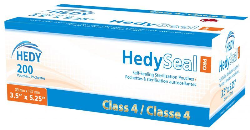 Hedy, Seal, Pro Class 4 Sterilization Pouch, 3.5
