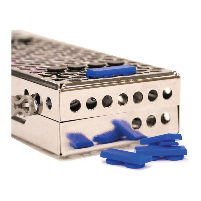 H-F, Cassette Tabs, Red, 5/pk