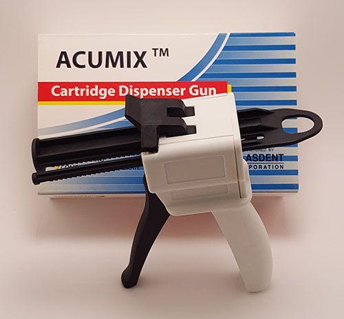 Plasdent, Acumix, Cartridge Dispenser Gun, 10 :1 / 4:1, 50ml