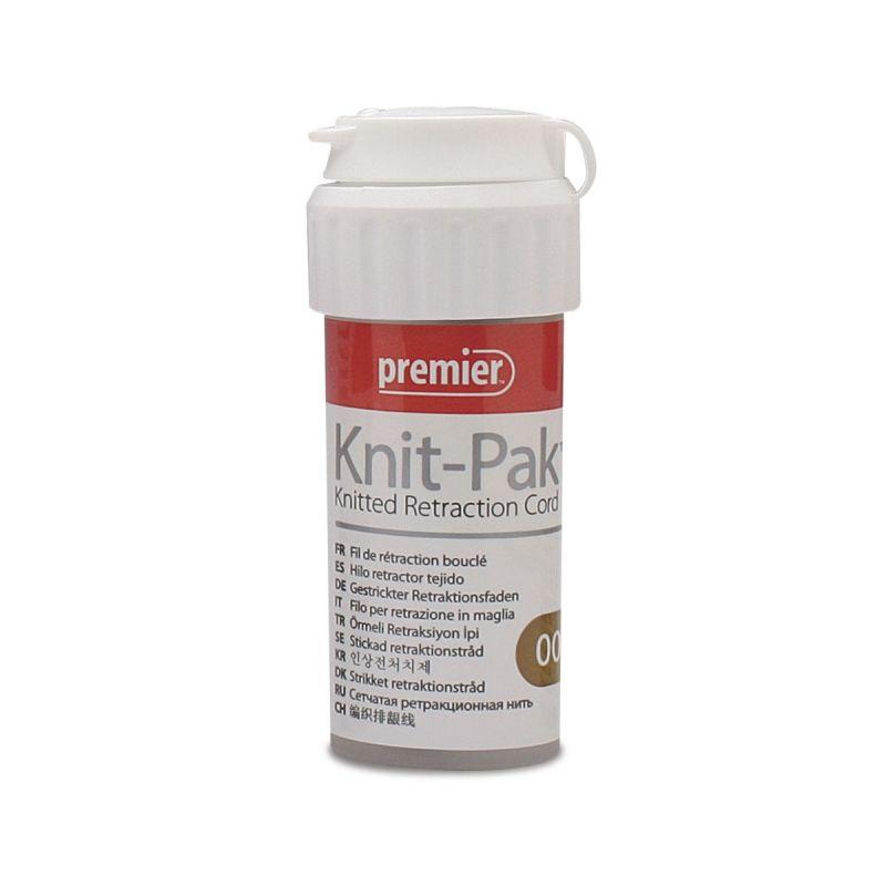 Premier, Knit-Pak, Knitted, Retraction Cord, Plain, #00, 100