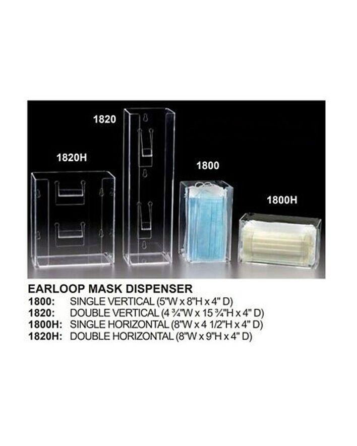 Plasdent, Mask Dispenser, Single, Verticle