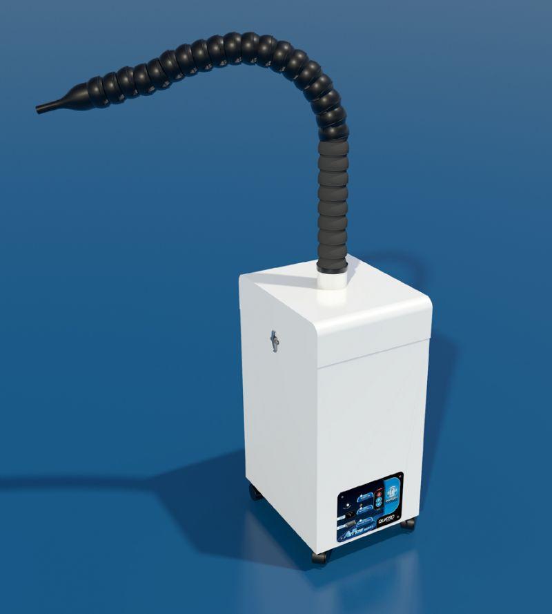 Quatro, Air Purifier, MedEVAC-S, Deluxe Unit w/Snorkel Attachment