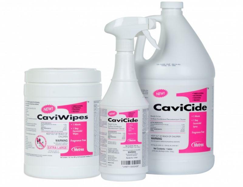 Metrex, CaviWipes1, Towelettes, Large, 6