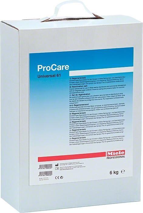 Miele, Water Softner Salt, Pro-Care Universal 61, 6kg