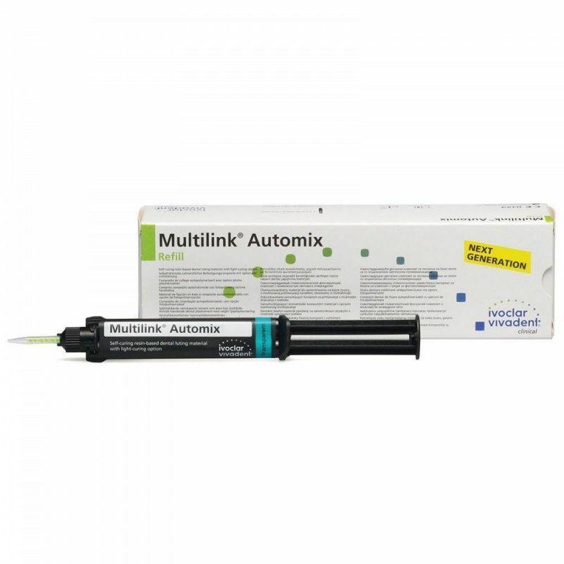 Ivoclar, Multilink, Implant Refill, Transparent