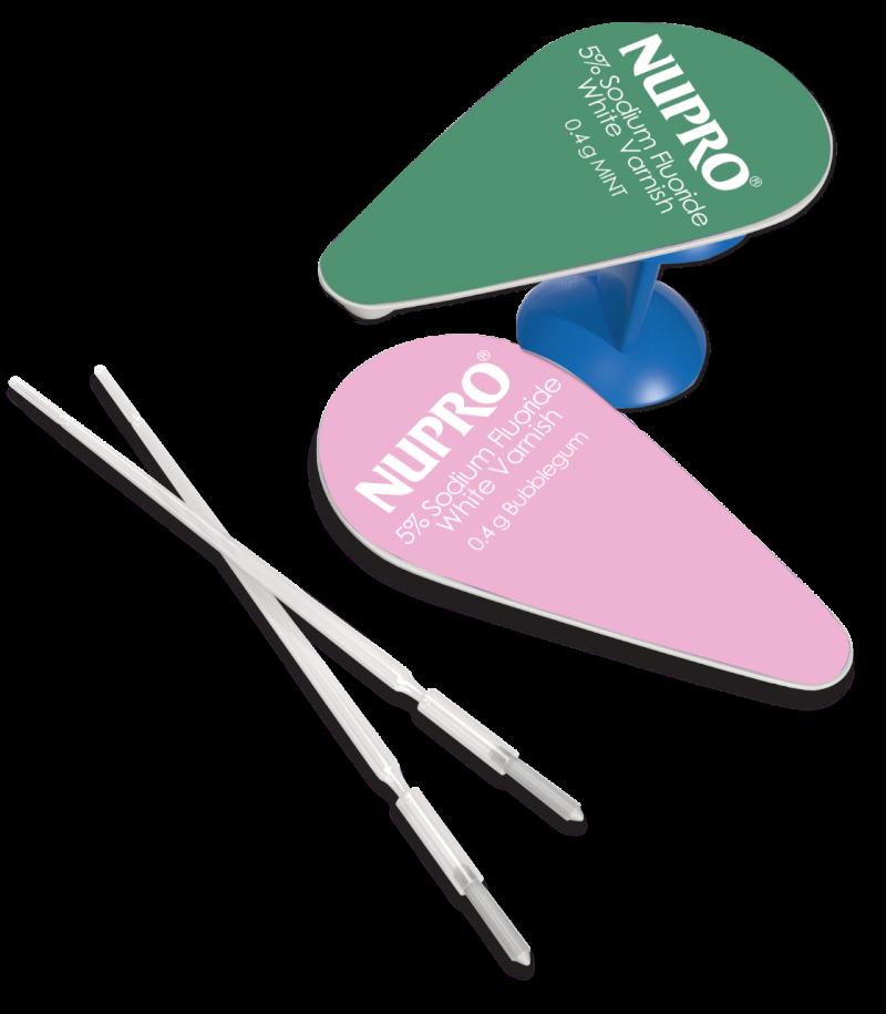 Dpy, PCD, Nupro, White Varnish, Mint, Easy Application, 100 - 0.4g/Box