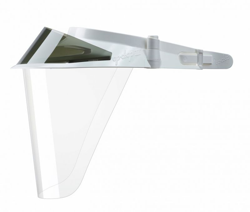 op-d-op, Visor Shield II Kit, Adjustable, White