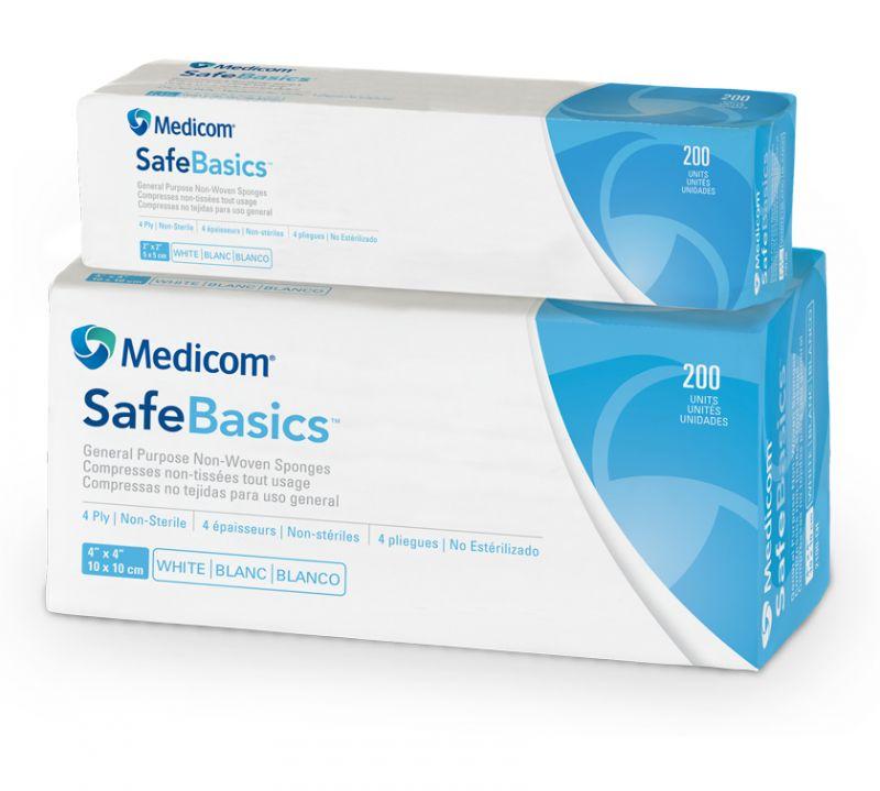 Medicom, Sponge, Non-Woven, 2