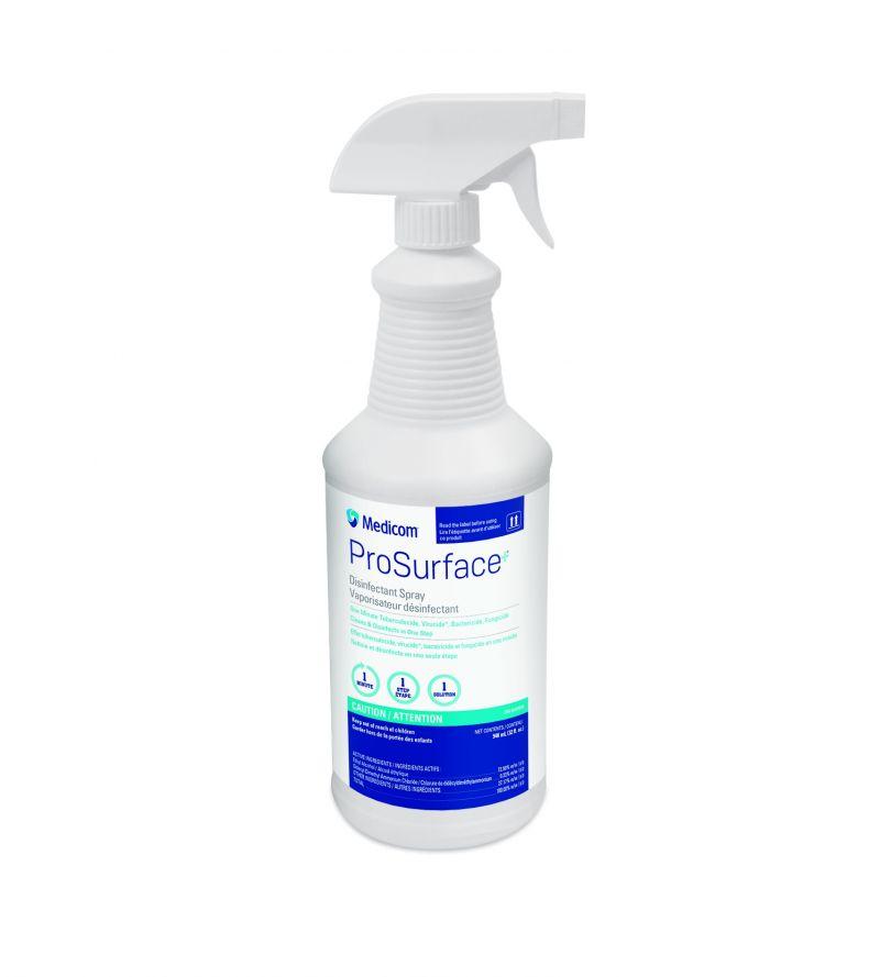 Medicom, ProSurface+, Spray, Disinfectant, 32oz. Bottle
