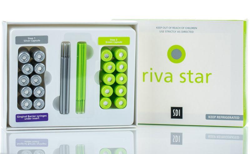 SDI, Riva Star, Silver Diamine, SDF, 2-Step Fluoride (10 Patients)