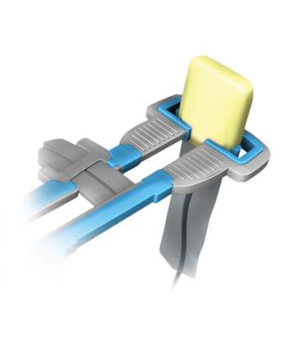 Crosstex, Sensor Slipper, Cushion, Yellow, Large, 50/Box