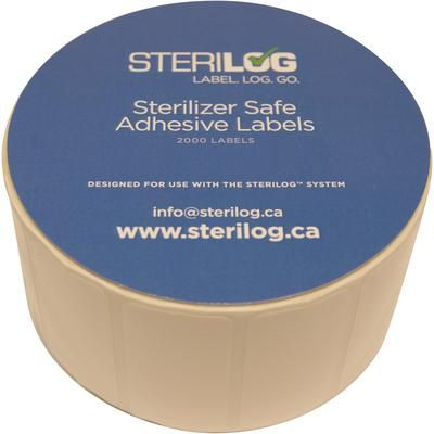 Sterilog, Label Roll f/Sterilog Printer, 2000/Roll