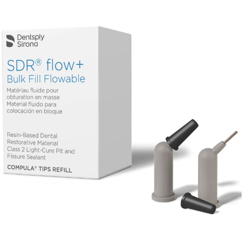 Caulk, SureFil SDR Flow Plus, Compula, Refill, A2, Tips