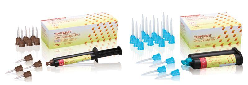 GC, Tempsmart, Temporary C&B, B1, 1 - 10ml Syringe and 10 GC Automix tips