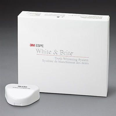 3M, White & Brite, Tooth Whitening, 10%, Touch up, 2/box